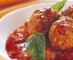 Quorn Meat-Style Balls with Tomato Sauce [Suitable for 5:2]