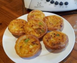 Crab & Feta Mini Quiches