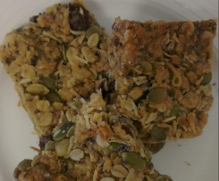 Healthy, Nut Free, Muesli Slice