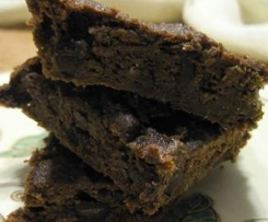 SWEET POTATO CHOCOLATE BROWNIES..GF