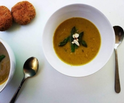 Cream of Asparagus Soup (dairy free)