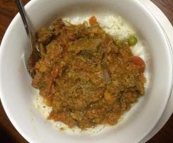 Left Over Lamb Roast Curry