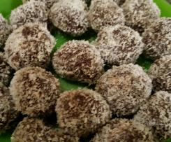 Chocolate weetbix balls