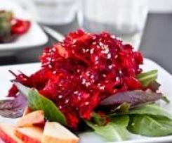 Enzimatic Beetroot Salad