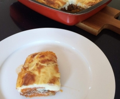 Moussaka with Sweet Potato