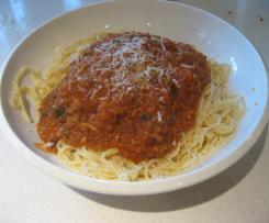 Hidden Veg Bolognese sauce