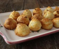 French Cheese Puffs - Gougères