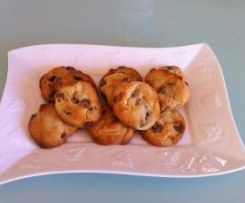 Cafe style Choc Chip Cookies
