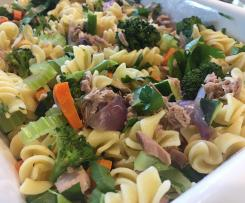 Tuna and vegetable pasta bake