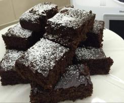 Chocolate zucchini brownies GLUTEN/EGG/SUGAR and DAIRY FREE