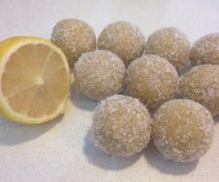 Lemon Cheesecake Protein Balls