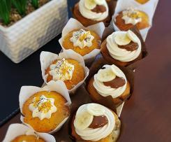 Banana Muffin - Cafe Style