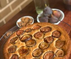 Fig, Almond and Orange Blossom tart by Layelle