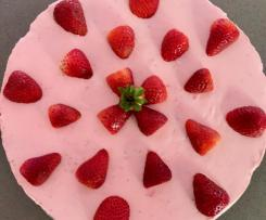 Strawberry Cheesecake - no bake