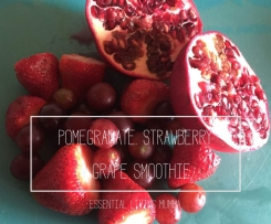 Pomegranate & Strawberry Smoothie