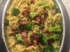 Creamy Bacon and Broccoli Fettucine