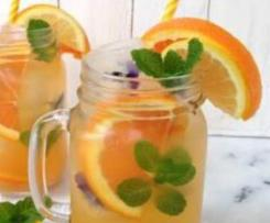 Orange and ginger lemonade
