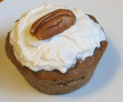 Zucchini spice cupcakes - Can be made vegan, gluten free, dairy free, nut free.