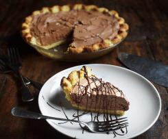 French Chocolate Silken Pie (LCHF, GF)