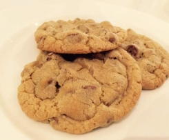 Chocolate Chip Cookies - Soft and Chewy (Mrs Fields style)