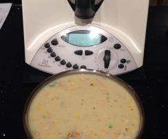 Jen's Crab and Corn Chowder