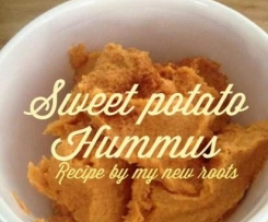 Sweet Potato Hummus- By My New Roots