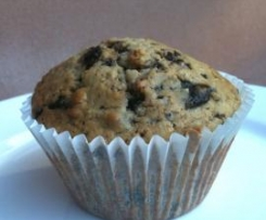 Oat and Apricot Choc Chip Muffins