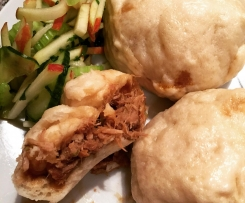 Leftover Pork Steamed Buns