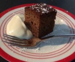 Sticky Prune Cake