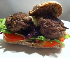 Burgers with Australian Native Dukkah
