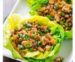 Vegetarian/Chicken Lettuce Cups