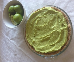 AVOCADO COCONUT LIME LAYERED CHEESECAKE Inspired by Jess Ainscough