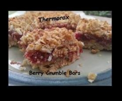 Berry Crumble Bars