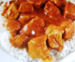 Easiest Even Butter Chicken
