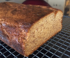 Paleo Banana Bread (nut free)