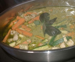 Mums thai green curry