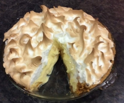 Lemon Meringue Pie to die for!