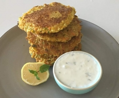Spiced Vegetable Fritters (GF)