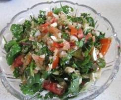 High Fibre Spinach Salad