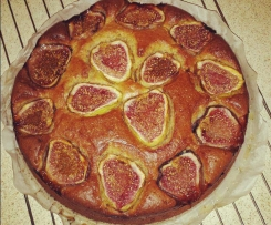 Gluten Free/Dairy Free Fig, Almond and Yoghurt Cake