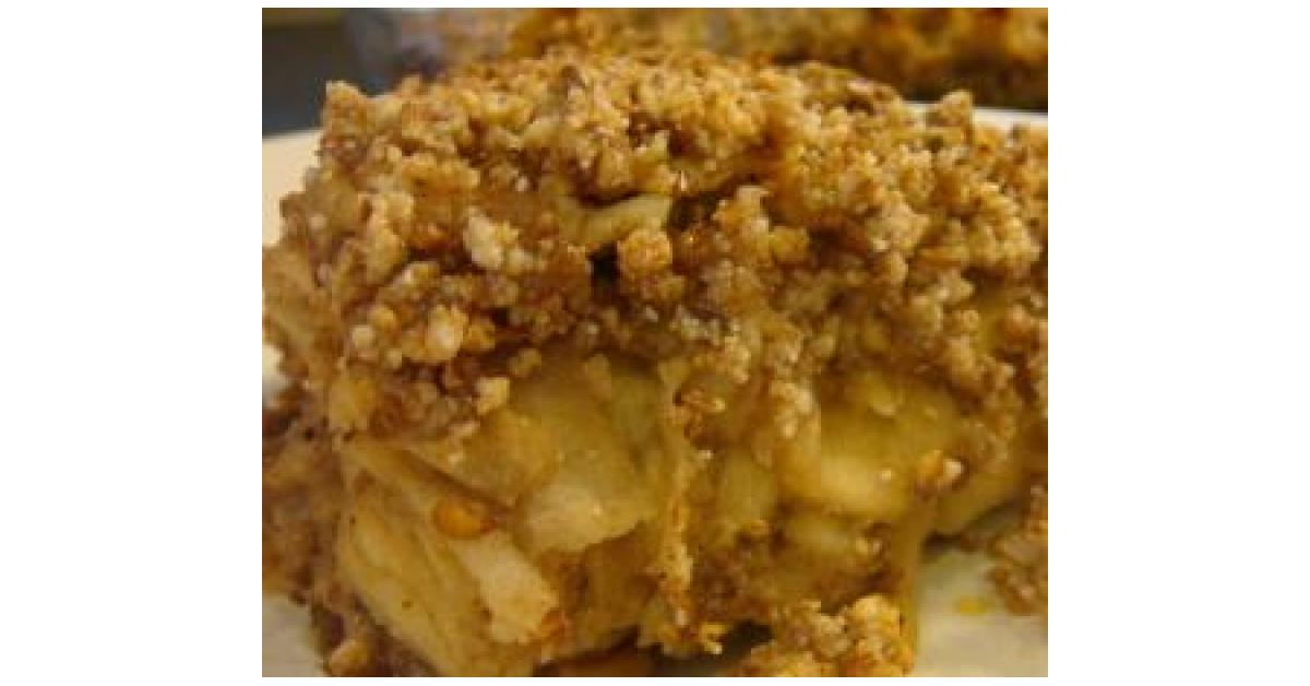 gluten free apple crumble by angela de gunst a thermomix recipe in the category desserts. Black Bedroom Furniture Sets. Home Design Ideas
