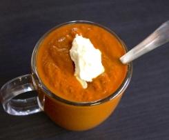 Cream of Smokey Tomato Soup - Paleo, GAPS, Dairy Free, Vegan