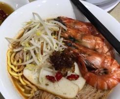 Penang Har Mee (Prawns noodles)