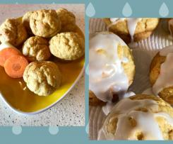 **Sugar free, egg free, dairy free** Apple , banana and carrot baby/toddler muffins