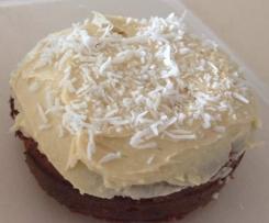 Coconut, lemon and white magic bean cake