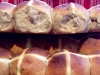 Best Hot Cross Buns - light & fluffy