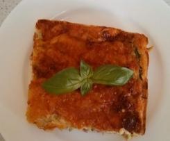 Zucchini slice: gluten free