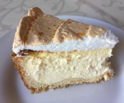 Tear drop cake - Merengue Cheesecake