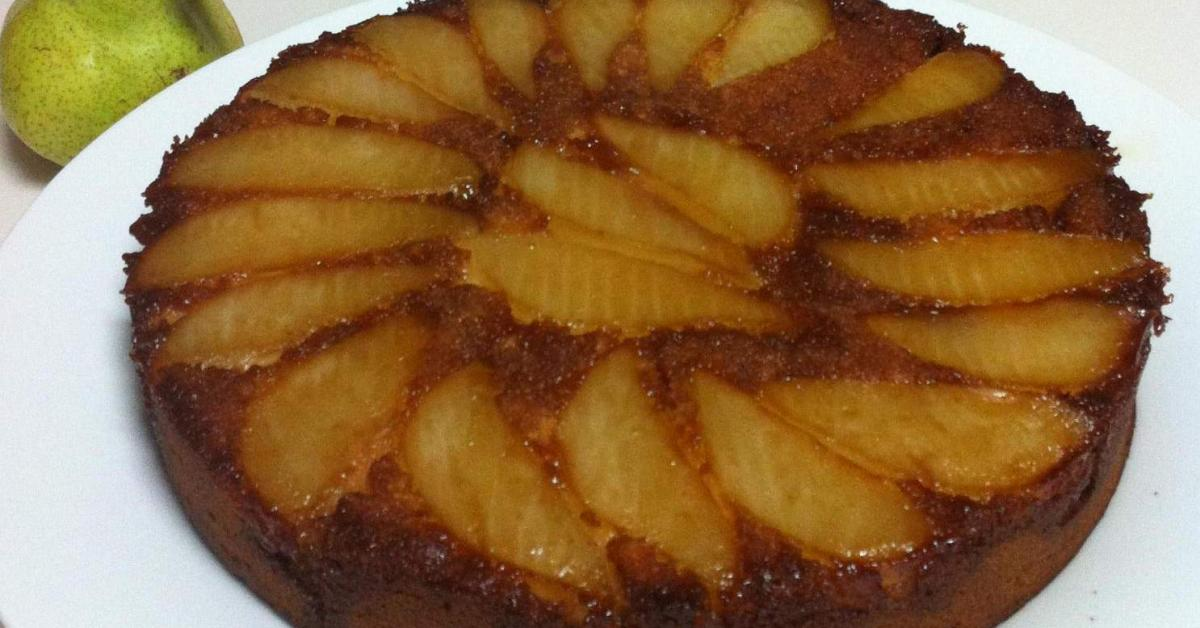Thermomix Pear Cake