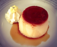 "Crème Caramel ""Maman"" with Coconut"